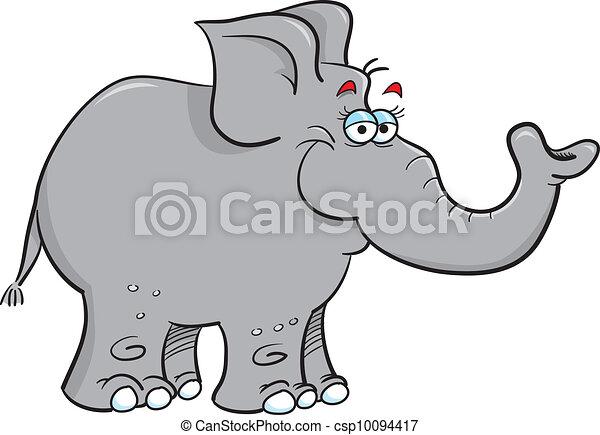 grey elephant - csp10094417
