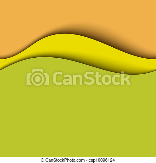 Abstract background. Warm colors - csp10096124
