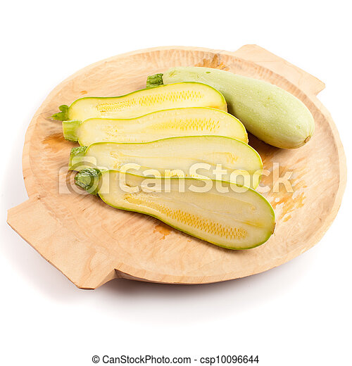Sliced courgette - csp10096644