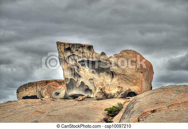 Remarkable rocks on Kangourou Island - csp10097210