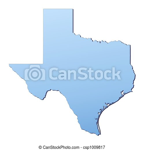 Stock Illustrations Of TexasUSA Map Filled With Light