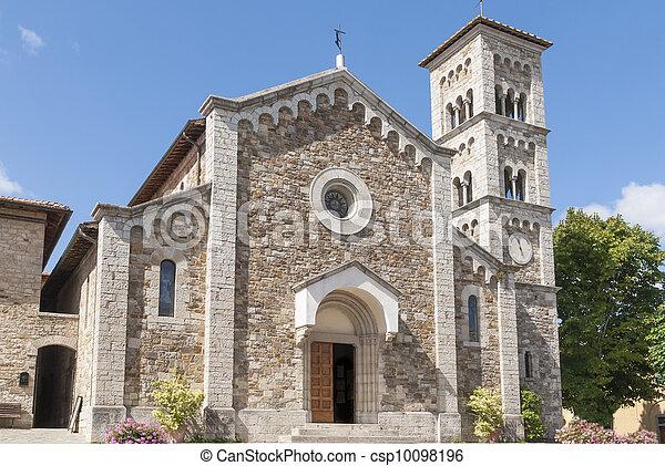 Church of St. Savior in Castellina - csp10098196