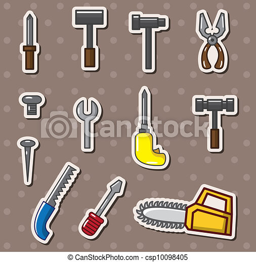 tools stickers - csp10098405