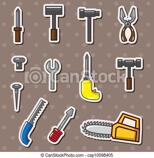 tools stickers - csp10098405