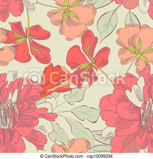 Colorful seamless pattern - csp10099294
