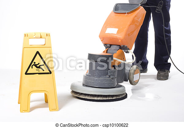 cleaning floor - csp10100622