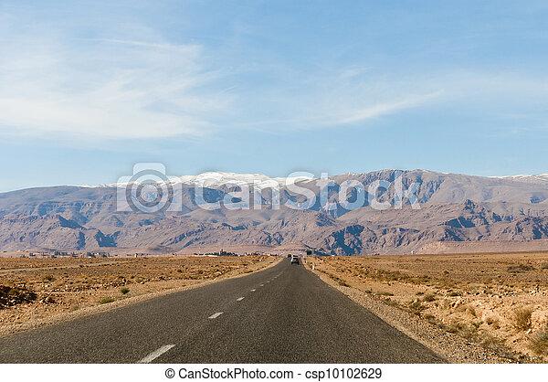 High Atlas Mountains at Morocco - csp10102629
