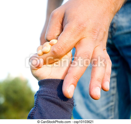 trust family hands - csp10103621