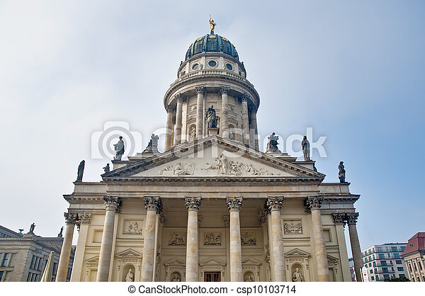 The Franzosischer Dom at Berlin, Germany - csp10103714