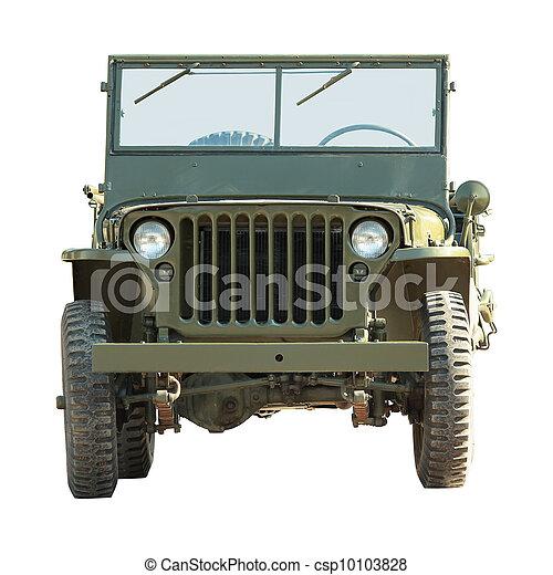 military american vehicle - csp10103828