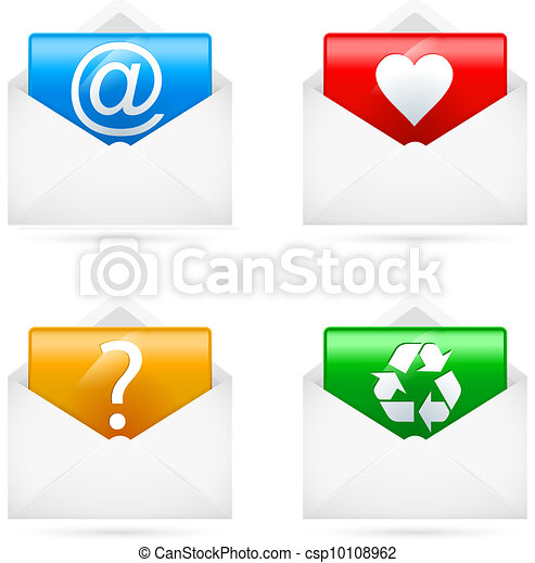 E-mail icons - csp10108962