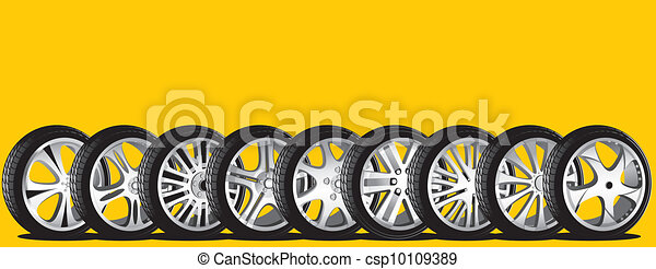 automotive wheel  - csp10109389