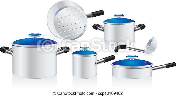 metallic pans - csp10109462
