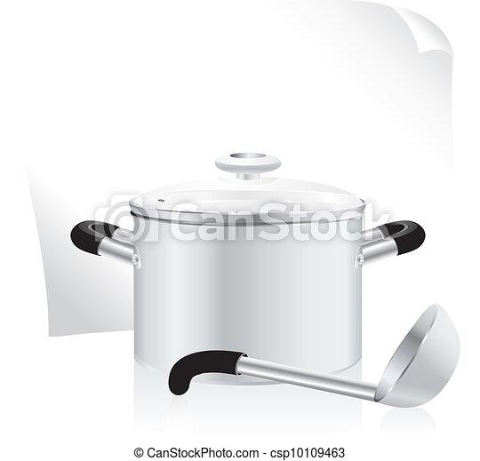 metallic pan - csp10109463
