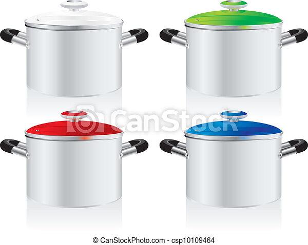 metallic pans - csp10109464