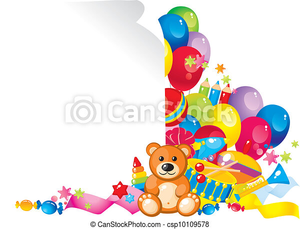 children toys - csp10109578