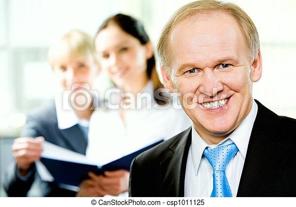 Adult business man - csp1011125