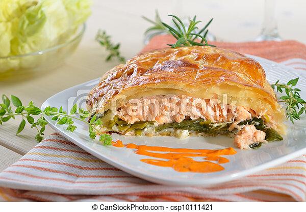 Salmon fillet  - csp10111421
