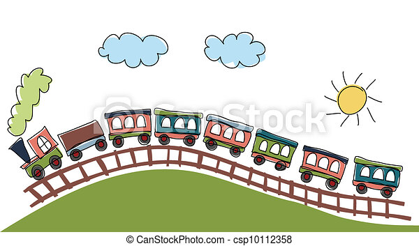 train pattern - csp10112358