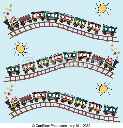 train pattern - csp10112363