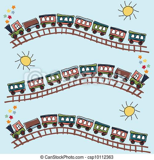 train pattern - csp10112363
