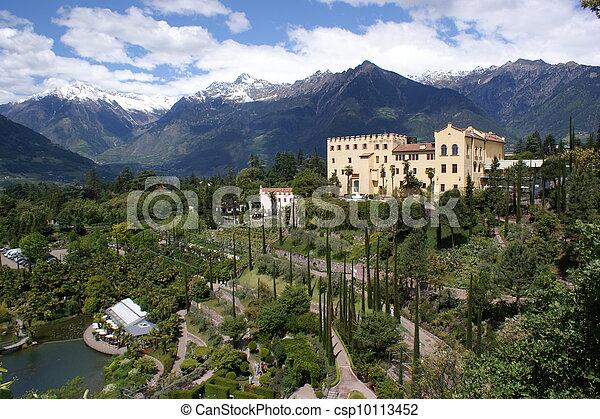 The Botanic Garden of Merano - csp10113452