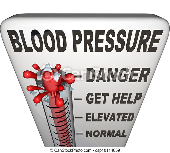 Hypertension Blood Pressure Elevated Dangerous Level - csp10114059