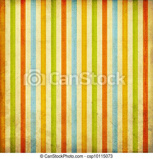 Retro stripe pattern - csp10115073