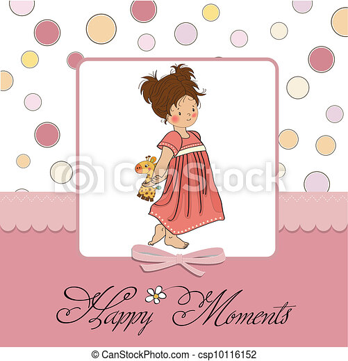 young girl going to bed  - csp10116152