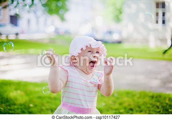 Kid's Happiness - csp10117427
