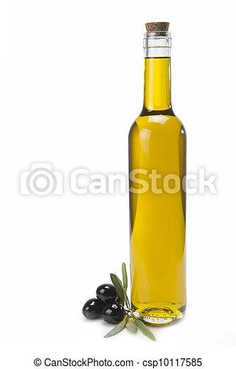 Olive oil bottle. - csp10117585