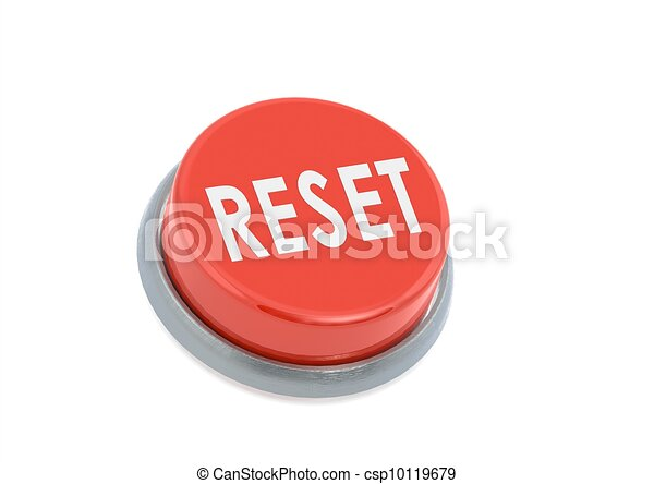 Red reset button - csp10119679