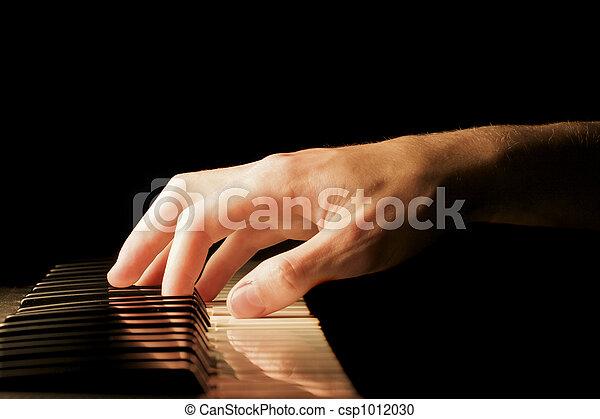 Piano Hand - csp1012030
