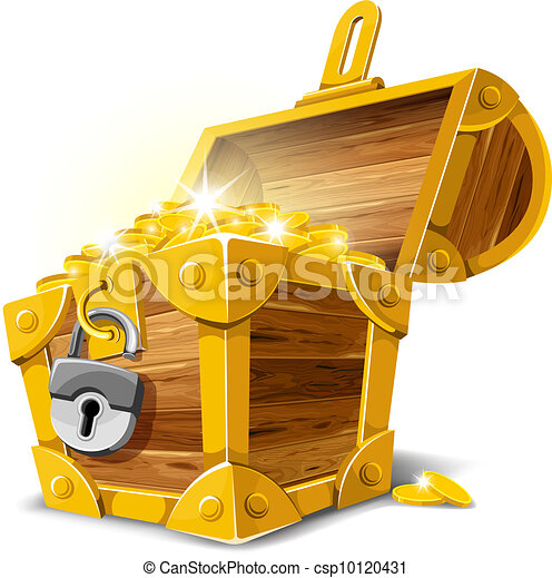 Treasure Chest - csp10120431