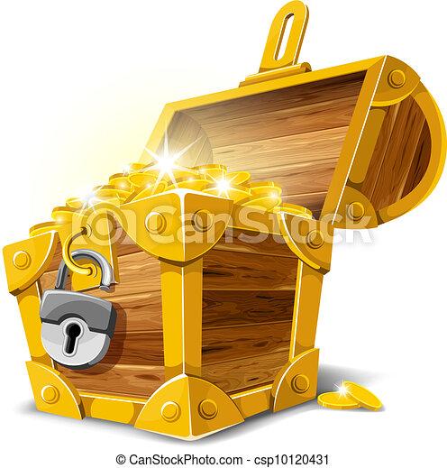 Treasure Chest - csp10120431