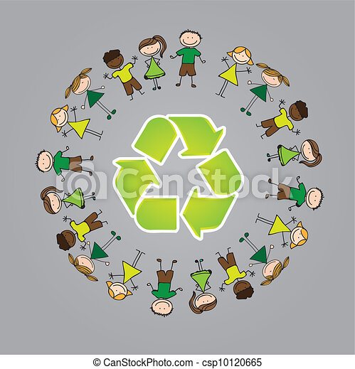 Childhood recycle - csp10120665