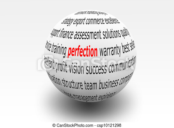 business perfection - csp10121298