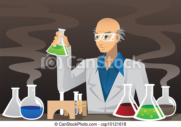Scientist in lab - csp10121618