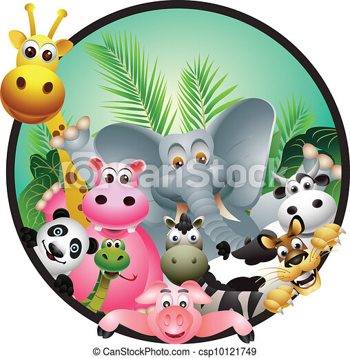 animal cartoon - csp10121749