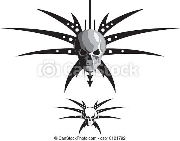 skull & blades - csp10121792