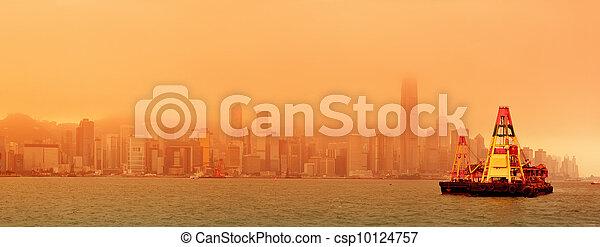 Hong Kong Victoria Harbour - csp10124757