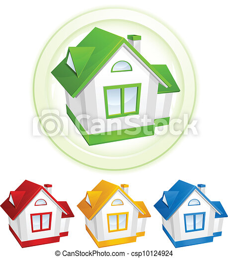 Color models of house - csp10124924