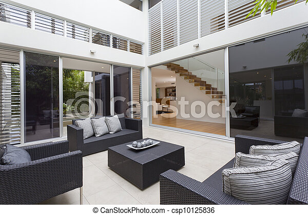 Home interior - csp10125836