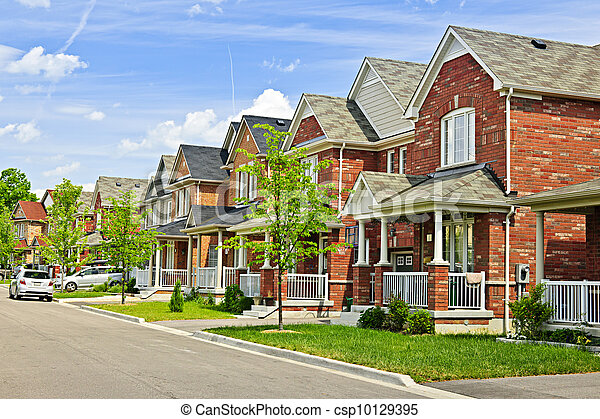 Stock Photographs Of Suburban Homes Suburban Residential