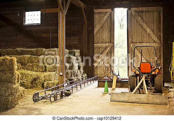 Image Gallery Interior Barn Clip Art