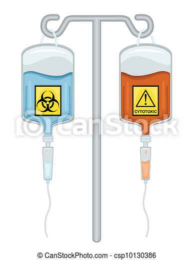 Chemotherapy Drugs - Biohazard and Cytotoxic - csp10130386