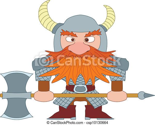 Dwarf warrior - csp10130664