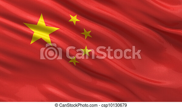 Flag of China - csp10130679