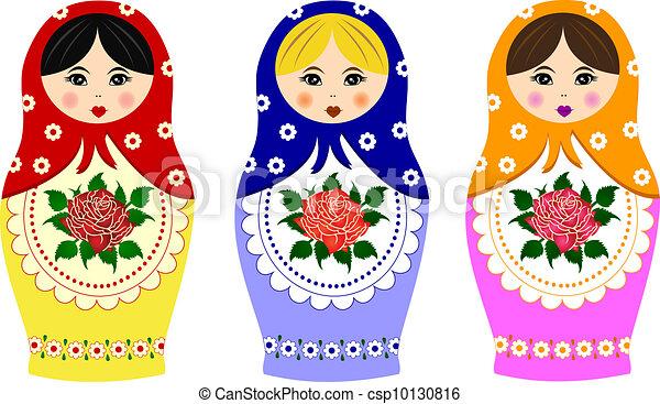 Traditional russian matryoshka - csp10130816