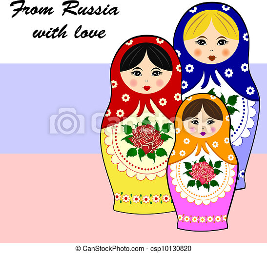 Traditional russian matryoschka dol - csp10130820